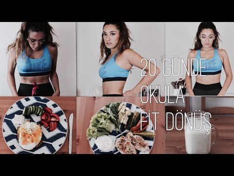 20 DAYS TO BACK TO SCHOOL FİT !   Slimming GUARANTEED NUTRITION AND EXERCISE PROGRAM!