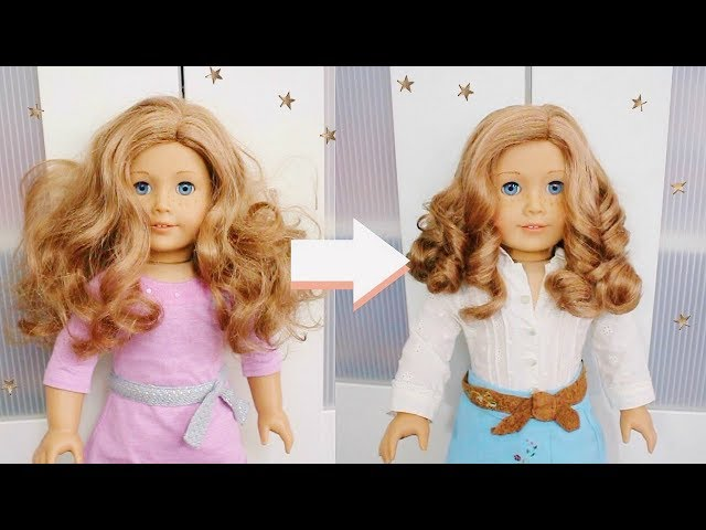 FIXING UP AN OLD AG DOLL! | Restoring GOTY 2007 American Girl Doll Nicki Fleming