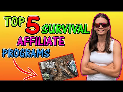 Top 5 Survival Affiliate Programs thumbnail