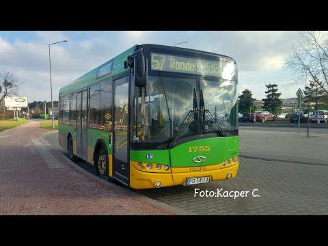 Mpk Poznań Linia 57  Solaris Urbino 8.6