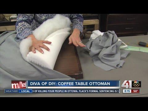 Diva of DIY: Coffee Table Ottoman