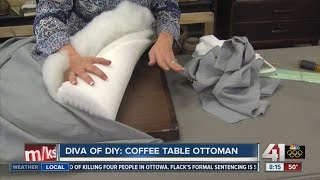 Diva of DIY: Coffee Table Ottoman