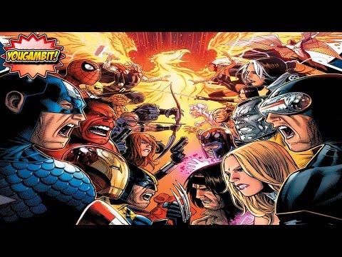 """VIDEOCOMIC: """"AVENGERS VS X-MEN"""" Parte 1 de 3 - Historia Completa (Especial 200k subs)"""