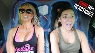 GIRLS WILD Reactions to 1000hp HOTROD