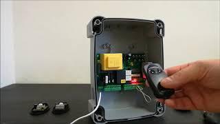 видео Блок управления A60/A