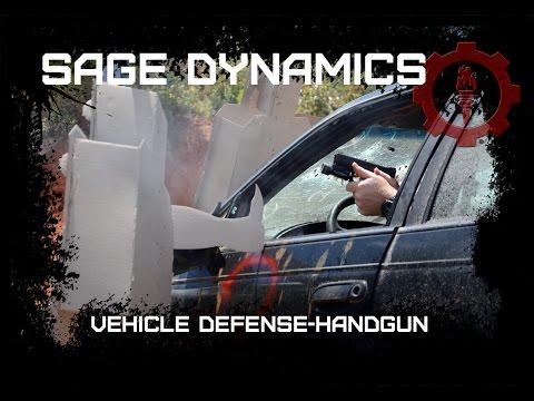 Sage Dynamics Vehicle Defense-Handgun