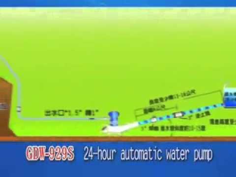 【綠巨人】免電力免燃料自動送水機(安裝要件及送水示意)