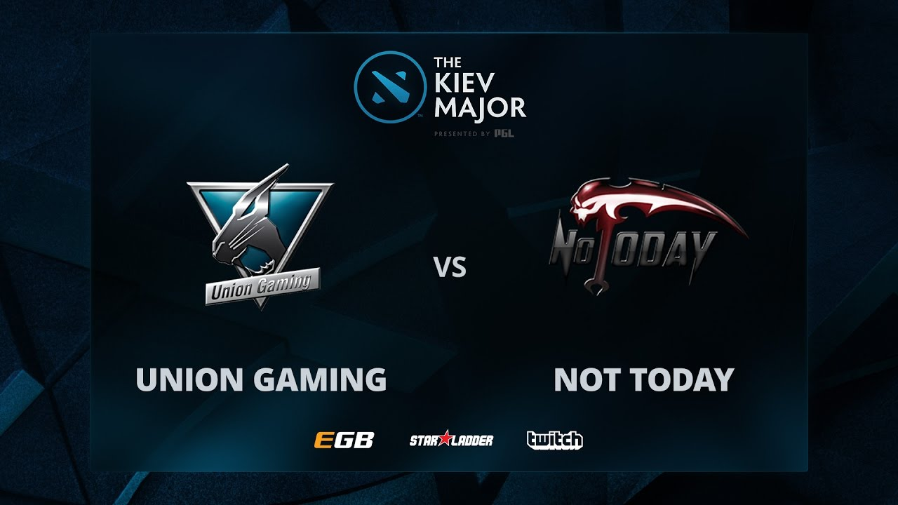 Union vs Not Today, The Kiev Major SA Main Qualifiers