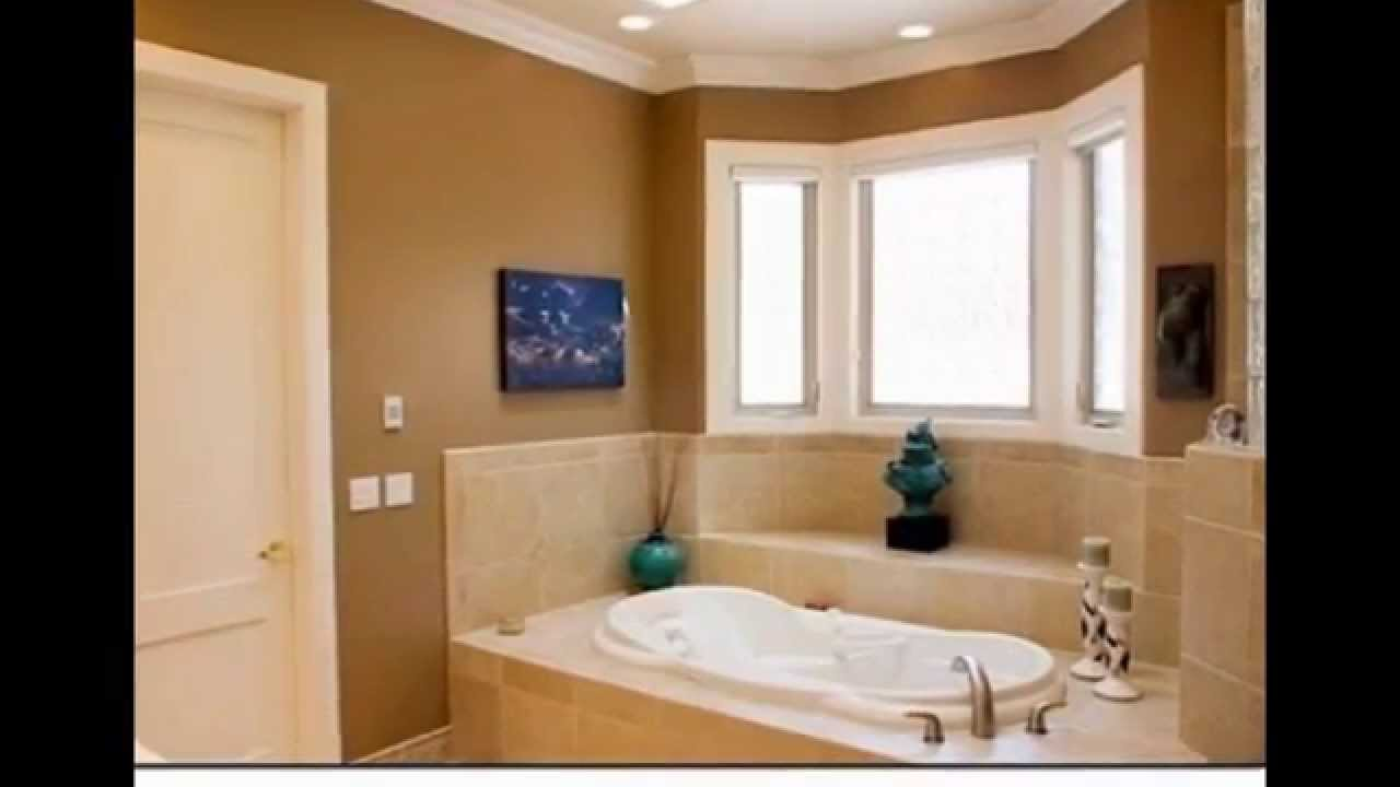 Paint Ideas For A Small Bathroom Magnificent Bathroom Painting Color Ideas  Bathroom Painting Ideas  Youtube Inspiration Design