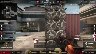 Game Show Global eSports Cup - Astralis vs. EnVyUs (Mapa 1 - Cache) - Semifinal