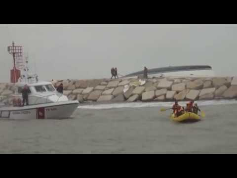 Tragico naufragio al porto di Rimini: 4 vittime. Intervista ad uno dei soccorritori