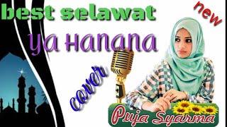 Gambar cover Qasidah Selawat Ya Hanana Cover Puja Syarma