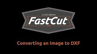 Converting an image to DXF