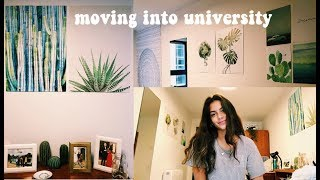 moving to university / uni room tour!
