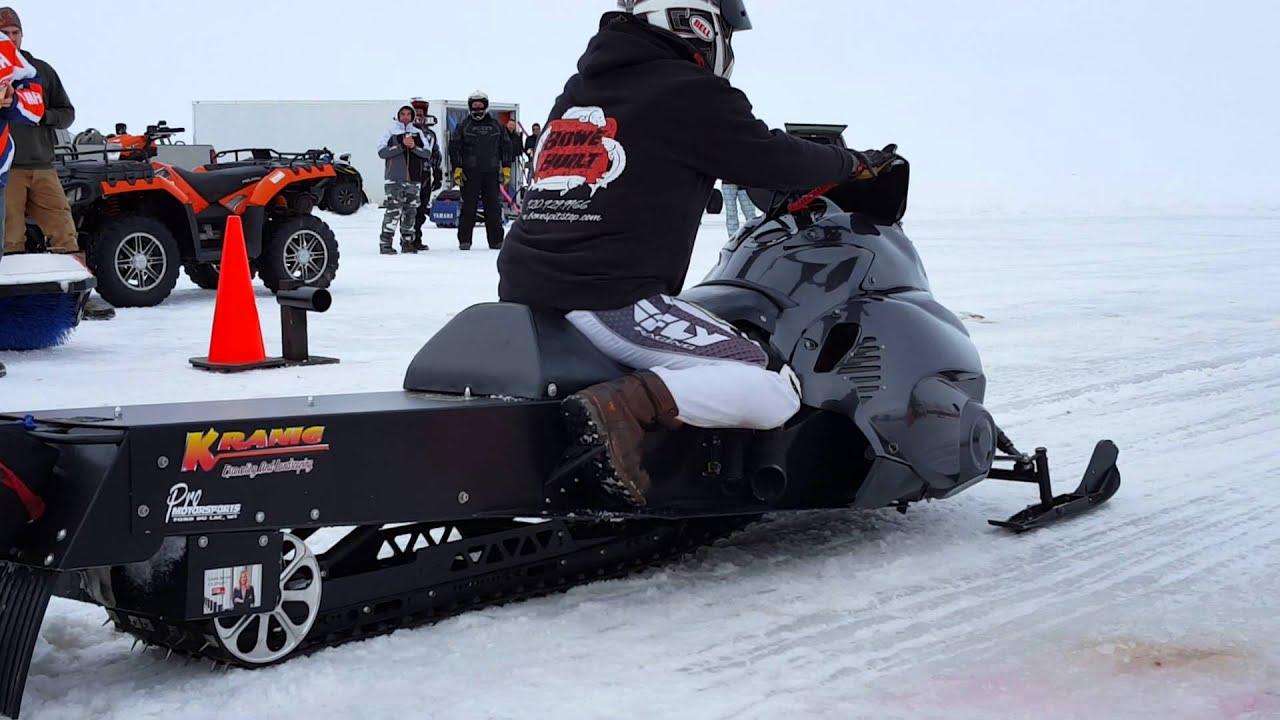 Turbo drag sled
