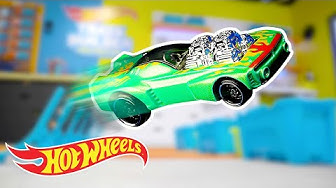 Trajectory of Trick Shots!   Labs Unlimited   Hot Wheels
