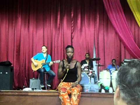 Dobet Gnahore in Jamaica no. 2 - voice workshop