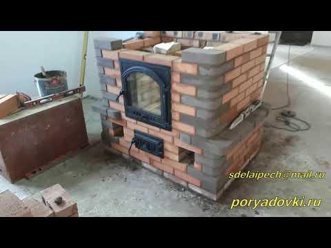 Каминопечь с духовкой в Изумрудном  25 печь в 2019 году