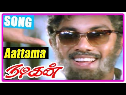 Nadigan Tamil Movie   Scenes   Sathyaraj decides to act as Venniradai Moorthy   Aattama song