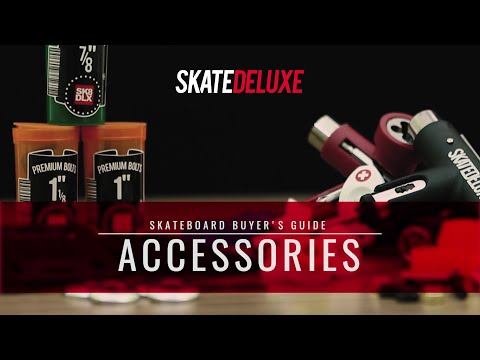 How to choose your skateboard hardware, bushings & more | skatedeluxe Buyer's Guide