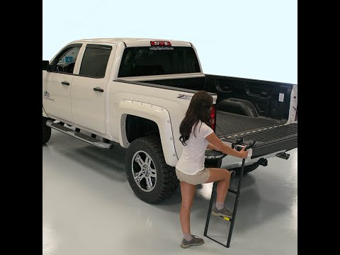 Traxion Tailgate ladder install