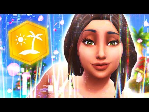 GLITCHIEST PACK EVER 👾 // The Sims 4: Island Living #6