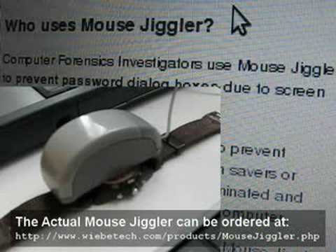 mouse jiggler vbscript   02 MOUSE LOGITECH