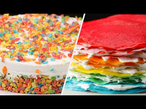 Delightful Rainbow Recipes That Will Make You Happy • Tasty
