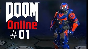 DOOM ONLINE Mal gucken was so geht #01 Let´s Play DOOM Online