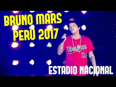 ¡CONCIERTAZO! BRUNO MARS EN PERÚ!!! | 24K MAGIC WORLD TOUR 2017 (ESTADIO NACIONAL)