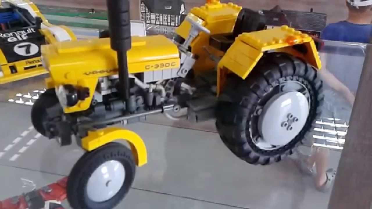 Ursus C 330 Z Klocków Lego Youtube