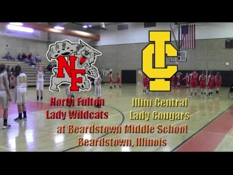 North Fulton Lady Wildcats vs Illinois Central Lady Cougars   12 29 2016