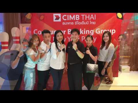 CIMB Thai, Consumer Banking Group, New Year Party 2017
