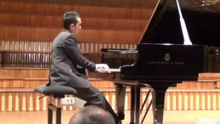 MUHAMMAD IQBAL SIDDIQ #19, MacDowell: Twelve Virtuoso Studies op46 no4, 7, 3 (Final Concert)