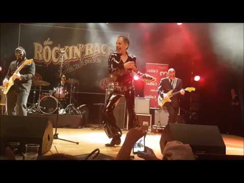ROCKIN RACE 2017: EL VEZ, BIG SANDY & LOS STRAITJACKETS To The Rescue 03.02.17 Torremolinos Spain