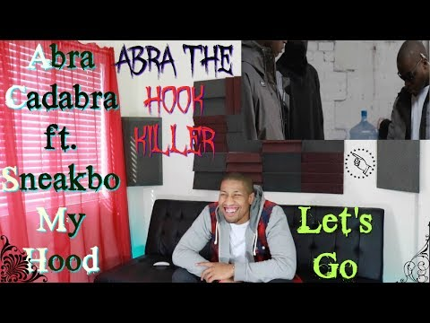 Abra Cadabra ft. Sneakbo - My Hood Music Video GRM Daily Reaction