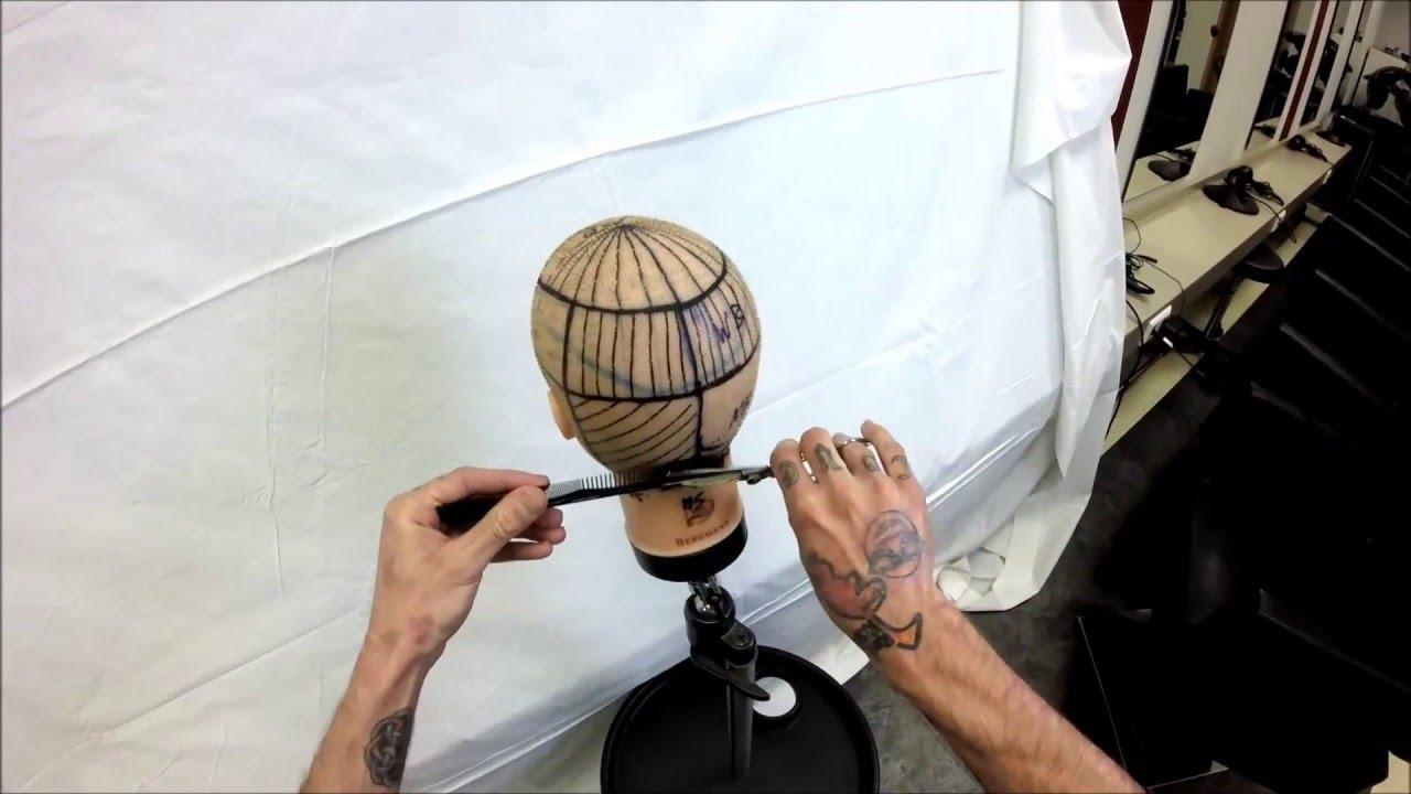 Lektion 2 Scherenubungen Haare Schneiden Lernen Youtube