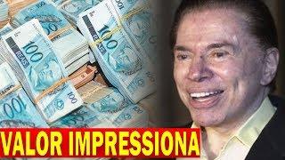 SALÁRIO de Silvio Santos é REVELADO e VALOR IMPRESSIONA a Todos