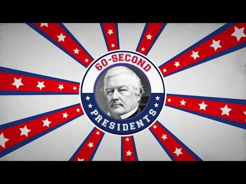 Millard Fillmore | 60-Second Presidents | PBS
