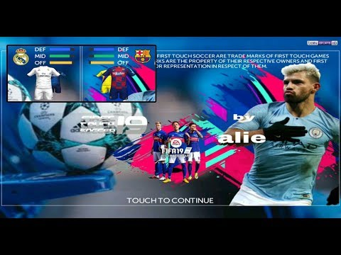 Game Android Offline FIFA 19 New Kits + Up 2020 (FTS MOD) Link + Cara Install - 동영상