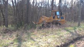 963 CAT Pushing Down Trees