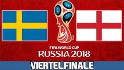 SCHWEDEN : ENGLAND   Viertelfinale   FIFA WM 2018 Prognose