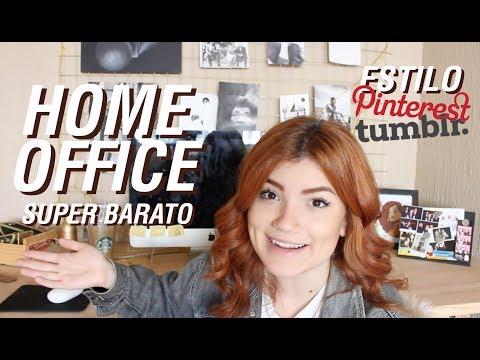 COMO FAZER UM HOME OFFICE BARATO E TUMBLR!