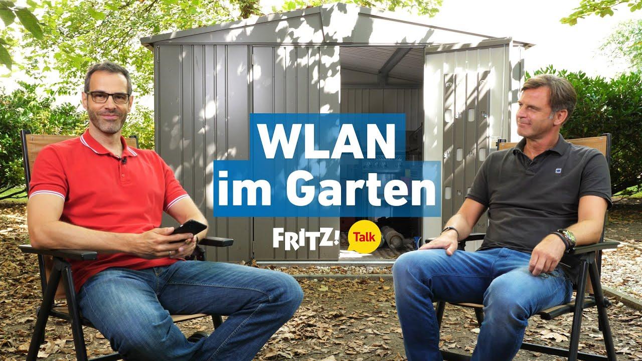 WLAN im Garten   FRITZ! Talk 41