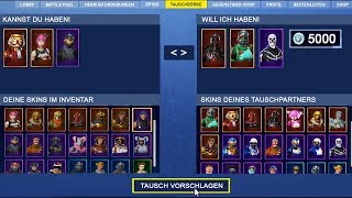 SKINS Tauschen in FORTNITE?!