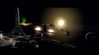 Star Trek Online Dominion PS4 Lets Play Part 7 Dont Stand Next To The Giant Doorway