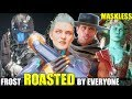 Who Roasts & Insults A Maskless Frost the Best? (Relationship Banter Intro Dialogues) MK 11