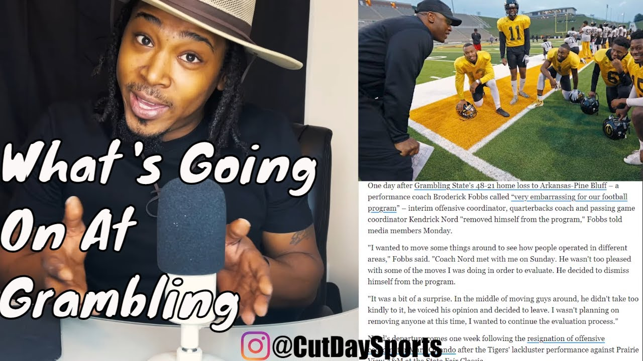 GRAMBLING TIGERS IN TROUBLE 2 Offensive Coordinators Resign and Starting QB Enters Transfer Portal