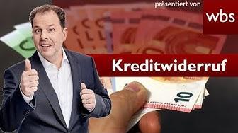 Kracher-Urteil: Fast alle (!) Kreditverträge können widerrufen werden - EuGH | RA Christian Solmecke