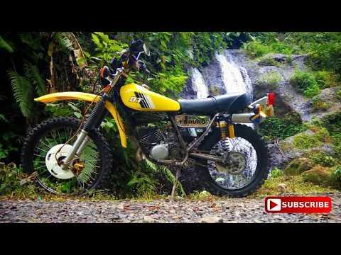 MODIFIKASI MOTOR TRAIL ADVENTURE TUA DT100 Menggunakan Silencer NORIFUMI EVO 2 Tak GAGAH!!!